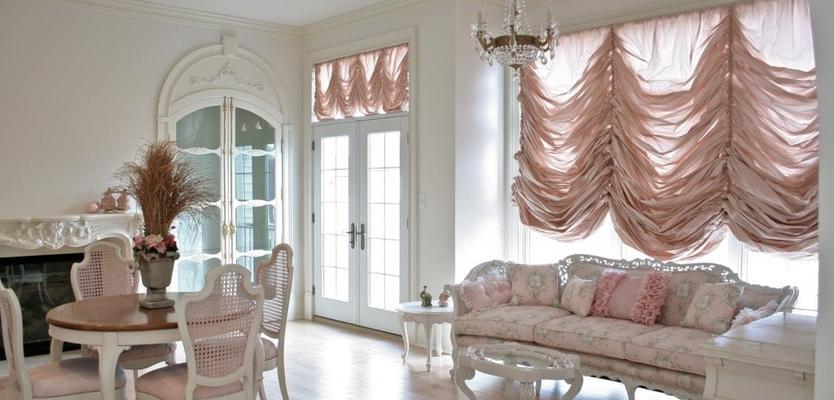 Французские шторы (48 фото): варианты маркизных занавесок в стиле ...