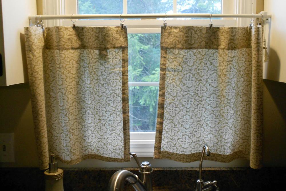 короткие шторы в спальню до подоконника (главный ключ)