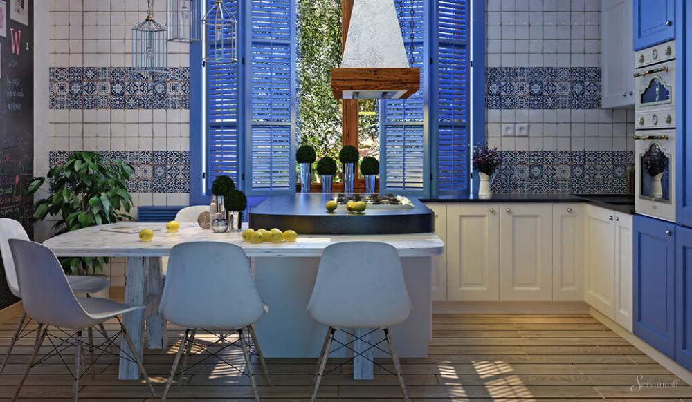 кухня 9 кв метров дизайн проект (главный ключ)