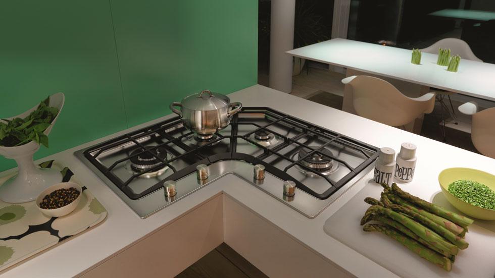 размеры газовой плиты для кухни