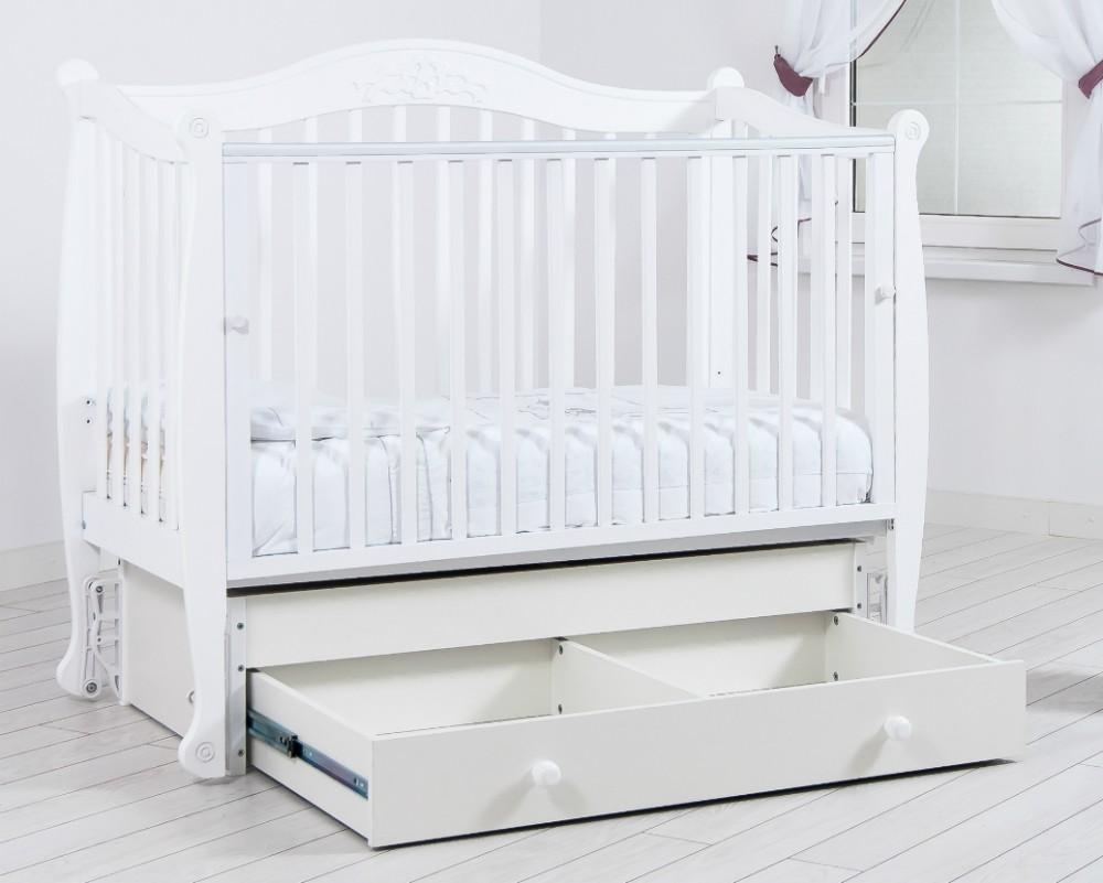 Кроватка маятник - обустройство детского спального места (77 фото)
