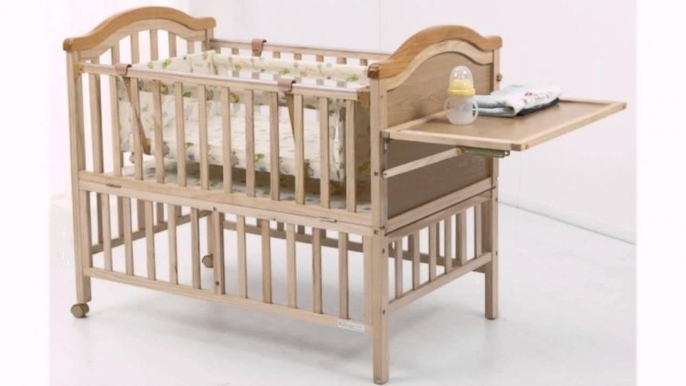 детские деревянные кроватки