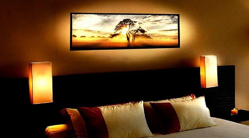 Освещение картин