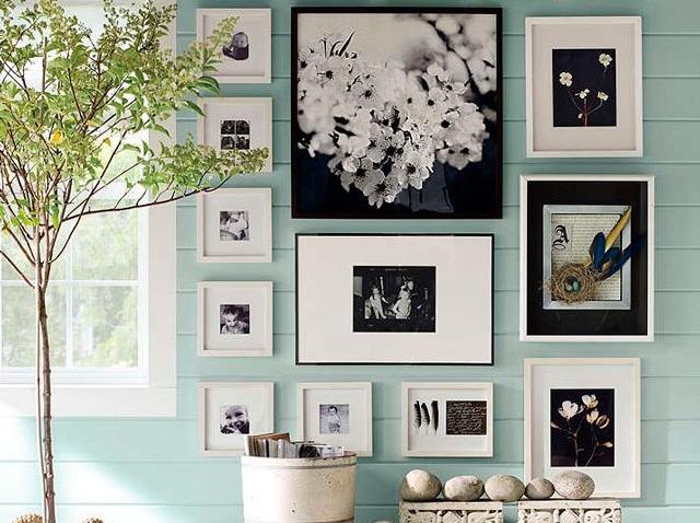 Как развесить картины в квартире: схемы и фотопримеры