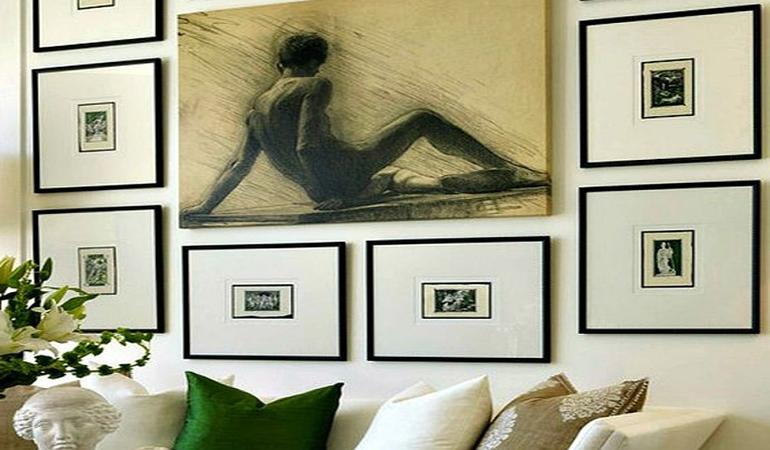 Как развесить картины на стену - советы от ТМ Арт-Холст