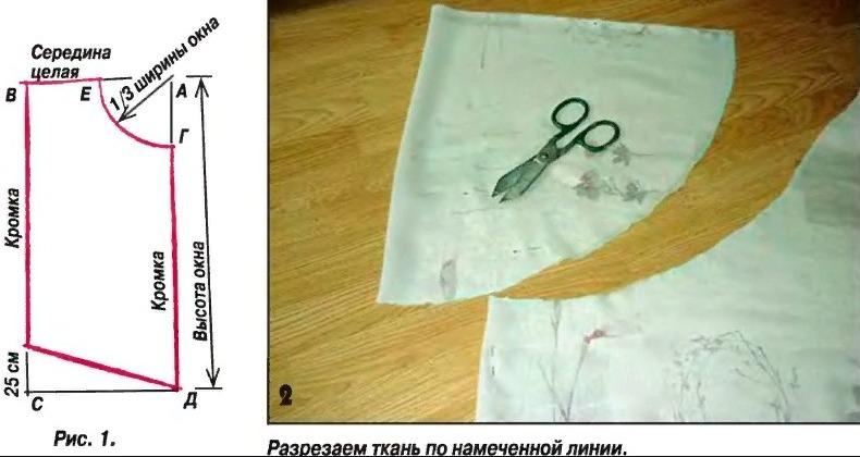шьем занавески сами модели выкройки