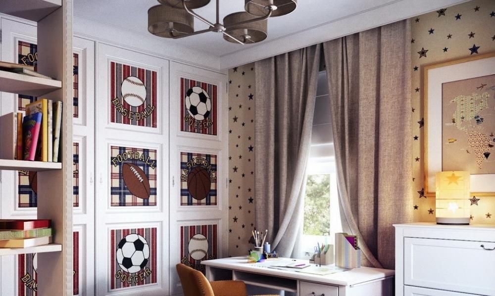 шторы в детскую комнату для мальчика (главный ключ)