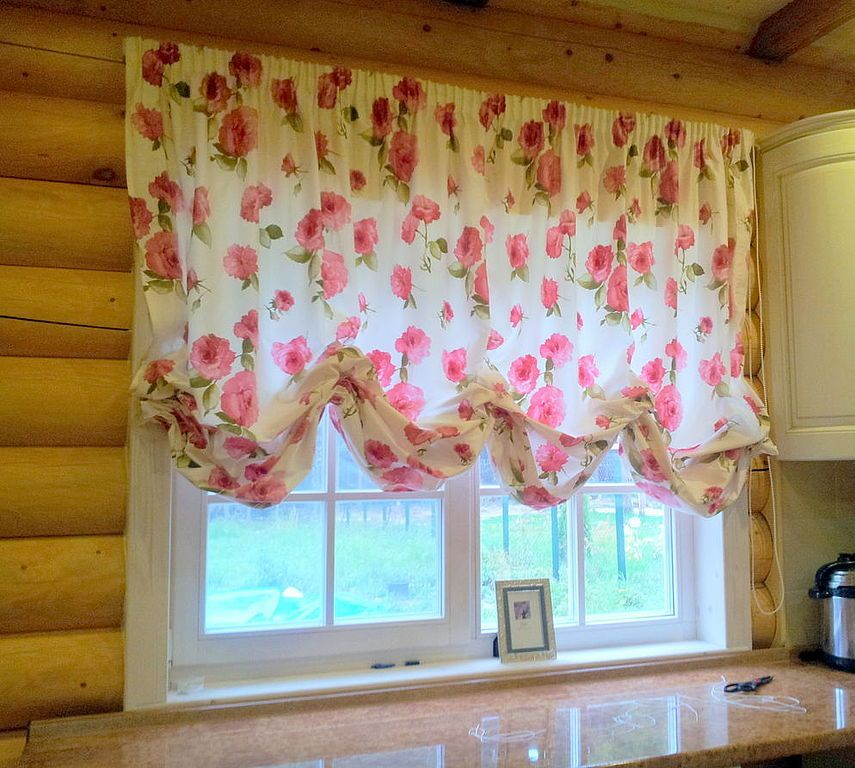 Австрийские шторы, фото в интерьере которых, выглядят изумительно ...
