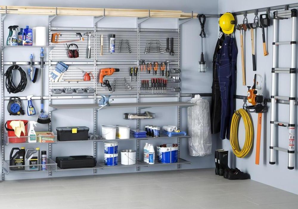полки для инструмента в гараже своими руками