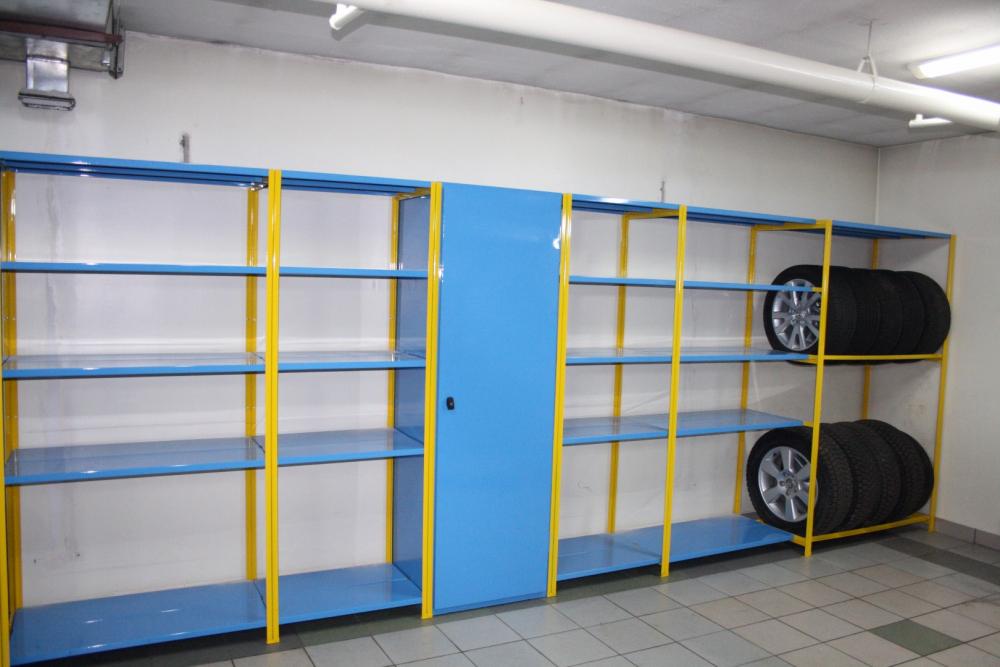 стеллаж в гараж своими руками (главный ключ)