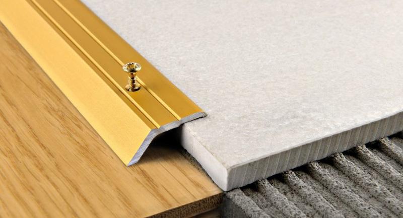 стык между плиткой и ламинатом (главный ключ)