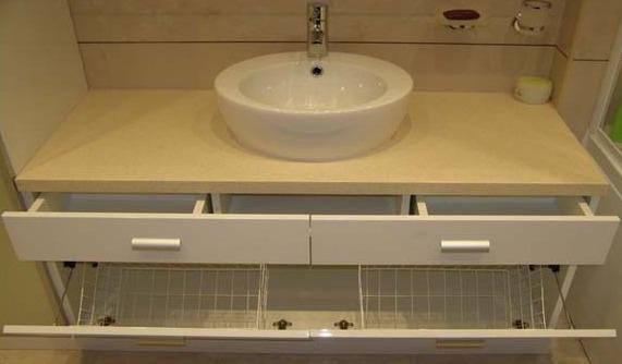 тумба в ванную комнату со столешницей