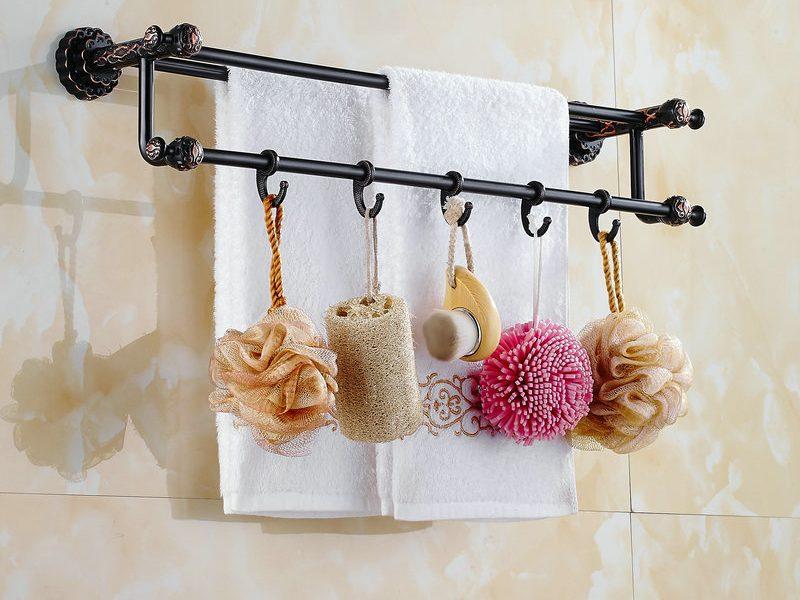 вешалка для полотенец в ванную (главный ключ)