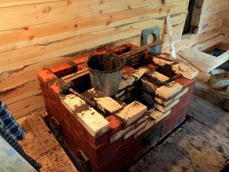 русская печь в современном доме