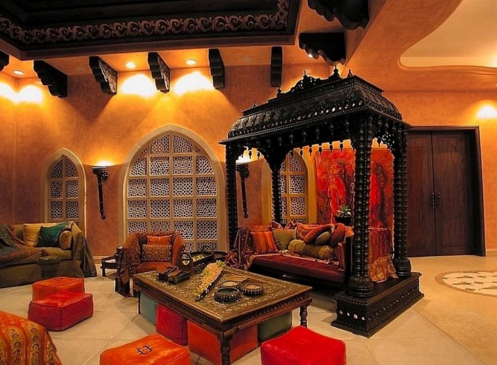 кухня в арабском стиле