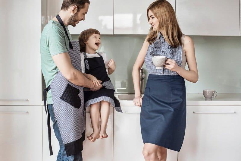 детские фартуки для кухни своими руками
