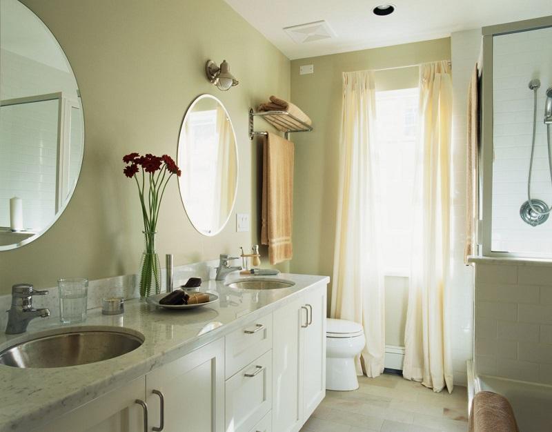 вытяжка в ванной комнате и туалете