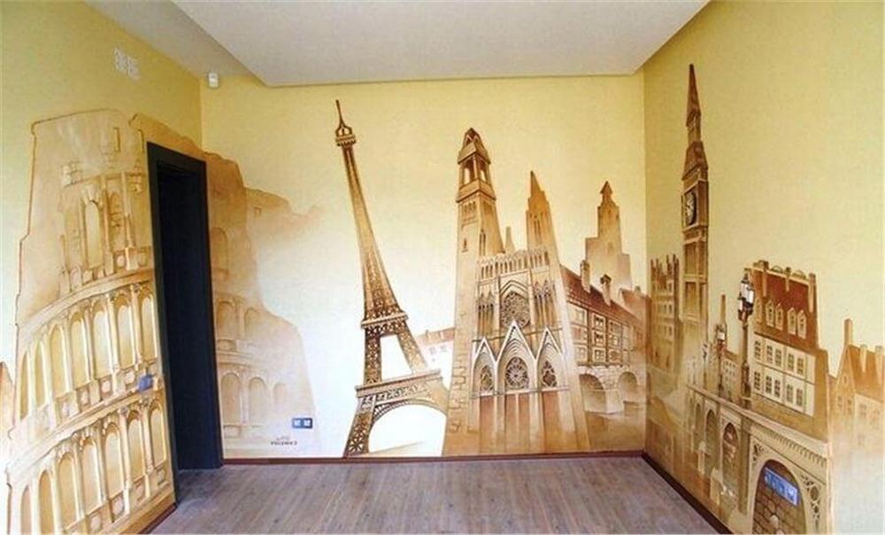 необычная отделка стен