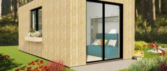 Изображение модульного дома из СИП панелей