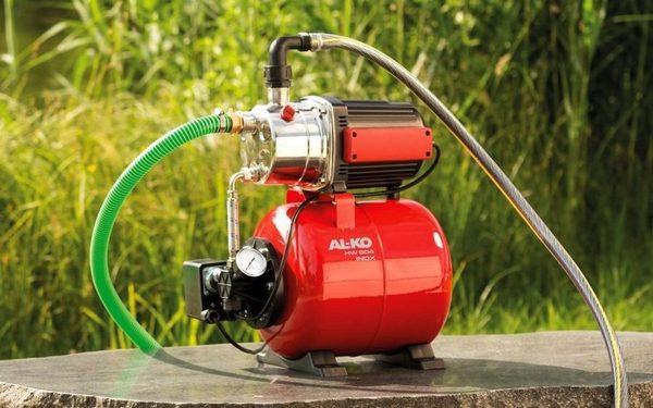 Нужно учитывать расход воды при выборе компрессора