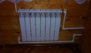 Однотрубное и двухтрубное подключение радиаторов отопления