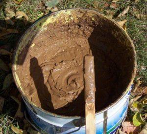 Штукатурная смесь для печей и каминов