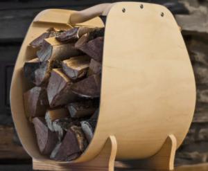 Дровник для камина своими руками из дерева и металла