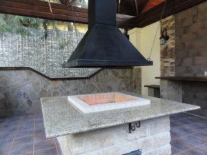 Островной камин своими руками: дровяной, круглый, центральный