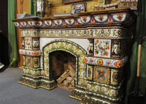 Изразцовая плитка для облицовки печей и каминов
