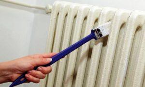 Чугунные радиаторы: как покрасить, в какой цвет, расход краски