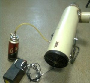 Самодельная газовая пушка для гаража: как сделать и куда установить