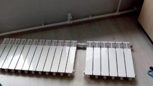 Соединение секций радиаторов отопления: схемы, правила, видео