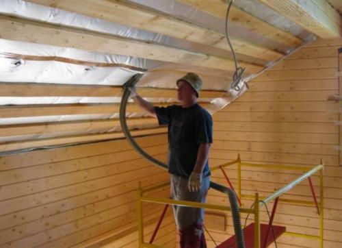 Как утеплить мансардную крышу своими руками, технология, видео