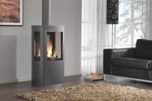 Газовый камин для дома с дымоходом и без дымохода: отзывы, фото, видео