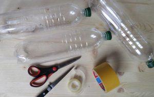 Как сделать пуфик из пластиковых бутылок своими руками
