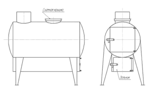 Печь в гараж из газового баллона: как сделать своими руками