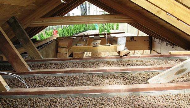 Утепление крыши керамзитом - как рассчитать толщину слоя для теплоизоляции кровли