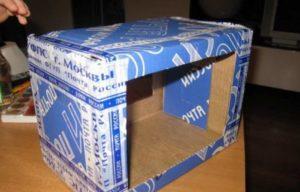 Скворечник из коробки своими руками: инструкции с фото
