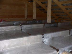 Утепление крыши чердака минватой: плюсы и минусы, технология монтажа