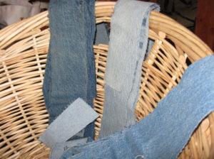 Коврики из старых джинсов: как сделать своими руками