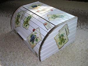 Деревянная хлебница своими руками: чертежи и размеры