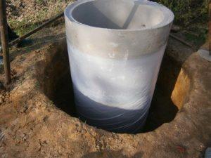 Утепление колодца из бетонных колец своими руками