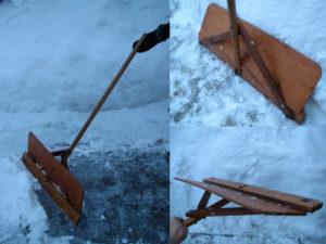 Скребок для чистки снега своими руками: чертежи, видео, фото