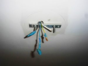 Как прикрепить люстру к гипсокартонному потолку