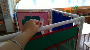 Ширма для детского сада из полипропиленовых труб