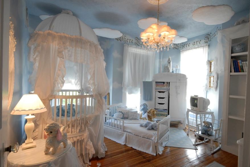 Балдахин на детскую кроватку: как крепится, способы расположения, как сделать своими руками