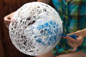 Как сделать абажур для торшера своими руками