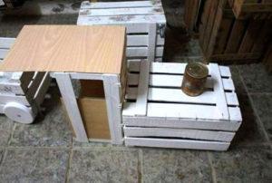 Клумба из ящиков: фото, идеи, как сделать своими руками из деревянных, пластиковых ящиков
