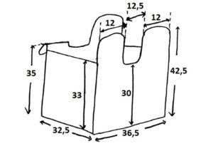 Как сделать корзину для белья своими руками