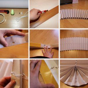Как сделать жалюзи из обоев: пошаговая инструкция с фото, видео
